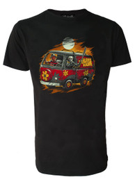 Scooby Horror Machine Mens T Shirt