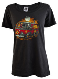 Scooby Horror Machine Womens T Shirt