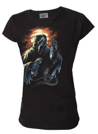 Ghost Scream Womens T Shirt