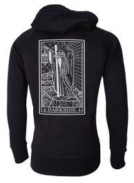 Hermit Tarot Card Cotton Zip Hood
