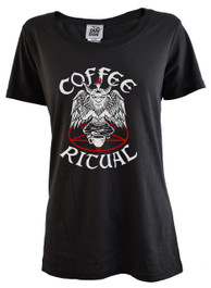 Coffee Ritual Womens T Shirt
