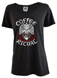 Coffee Ritual Womens T Shirt