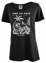 Sink Or Swim Womens T Shirt