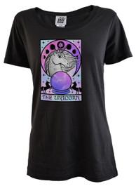 The Unicorn Tarot Womens T Shirt