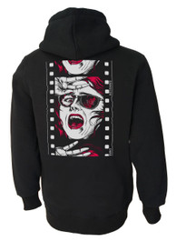 Horror Reel Fleece Zip Hood