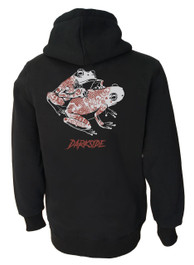 Tattoo Toads Fleece Zip Hood