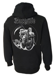 Grim Rider Fleece Zip Hood