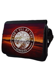 Kill My Vibe Messenger Bag