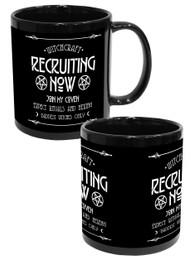 Witchcraft Recruit Black Mug