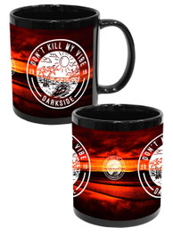Dont Kill My Vibe Black Mug