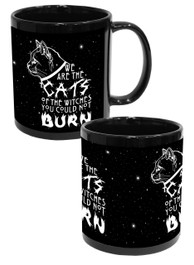 Cats Of The Witches Black Mug