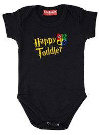 Happy Toddler Babygrow Black