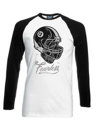 Fearless Mens Long Sleeve Baseball Top