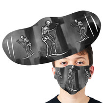 Tarot Reaper Face Mask