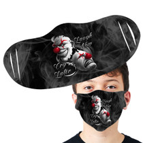 Laugh Now Clown Face Mask