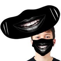 Goth Smile Face Mask
