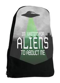 Alien Abduction Sci Fi Darkside Backpack Laptop Bag