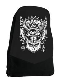 All Seeing Eye Alternative Gothic Occult Darkside Backpack Laptop Bag