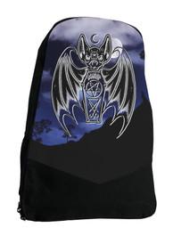Bat Gothic Witch Darkside Backpack Laptop Bag