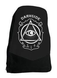Circle Eye Gothic Occult Darkside Backpack Laptop Bag