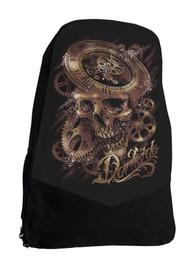 Clockwork Skull Darkside Steampunk Backpack Laptop Bag