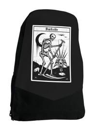 Death Tarot Card Gothic Occult Darkside Backpack Laptop Bag