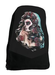 Dia Des Los Mertos Darkside Mexican Sugar Skull Backpack Laptop Bag