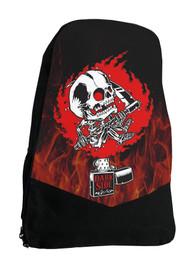 Zippo Skull Darkside Alternative Tattoo Backpack Laptop Bag