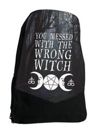 Wrong Witch Darkside Backpack Laptop Bag