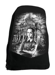 Wednesday Darkside Horror Film Backpack Laptop Bag