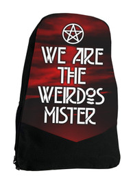 We Are the Weirdos Darkside Gothic Backpack Laptop Bag