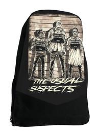 Usual Suspects Darkside Horror Movie Backpack Laptop Bag