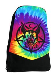 Tie Dye Mickey Darkside Alternative Disney Backpack Laptop Bag