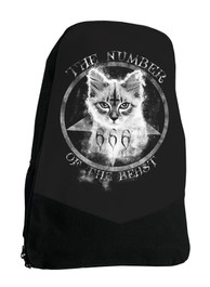 Number Of The Beast Gothic Occult Darkside Backpack Laptop Bag