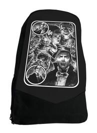 Monster Mash Up Horror Movie Darkside Backpack Laptop Bag