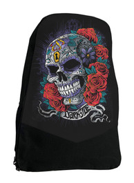 Mexican Sugar Skull Day Of The Daed Darkside Backpack Laptop Bag