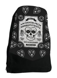 Ghoul Ouija Board Gothic Occult Darkside Backpack Laptop Bag