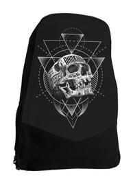 Inked Skull Darkside Tattoo Backpack Laptop Bag