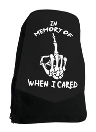 In Memory Alternative Gothic Darkside Backpack Laptop Bag