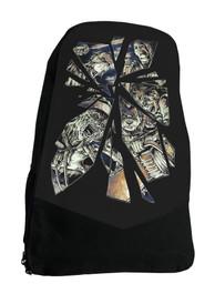 Horror Mirror Horror Film Darkside Backpack Laptop Bag
