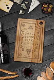 Ouija Board Serving Chopping Board