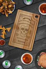 Ghoul Ouija Serving Chopping Board