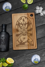 Baphomet Serving Chopping Board