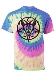 Mickey 666 Pastel Tie Dye T Shirt