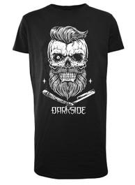 Bearded Skull Longline T Shirt