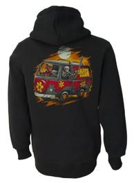 Scooby Horror Machine Fleece Zip Hood
