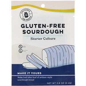 Gluten Free Real Sourdough Bread Starter Culture Kit Non-GMO Make Fresh Bread at Home!: This is a fantastic non-gluten based sourdough culture! You can make a delicious bread with this brown rice flour-based sourdough.