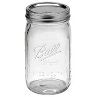 Ball Mason Jar / Wide Mouth 950ml or 2L Aussie Mason jars