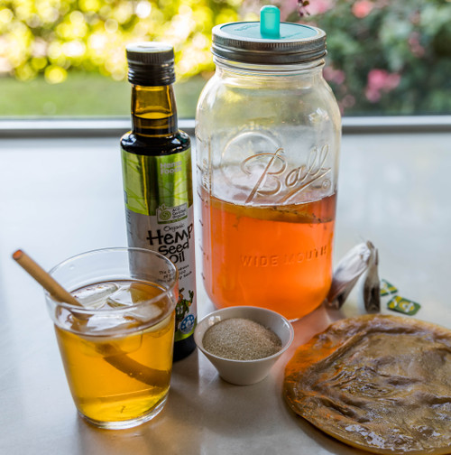 Hemp Kombucha kit. Make your own Hemp Kombucha