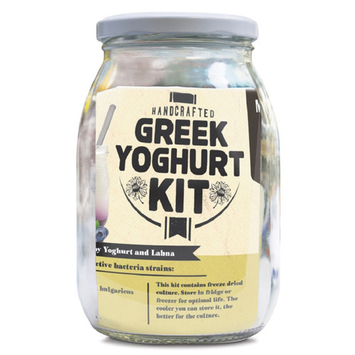 Make your own delicious Greek Yogurt at home.